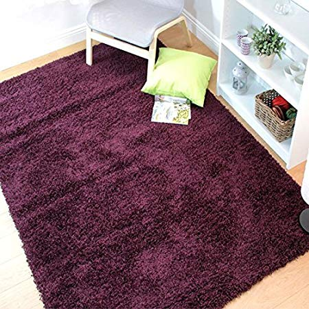 Nordic Cariboo Purple  Shaggy Rug | Shaggy Rugs | Flair Rugs Range On Offer